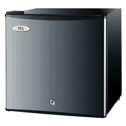 1.1 cu. ft. Upright Compact Freezer in Stainless Steel, Ener