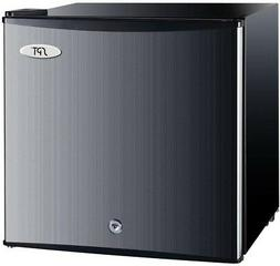 1.1 cu.ft. Upright Compact Stainless Steel Freezer w/ Handle