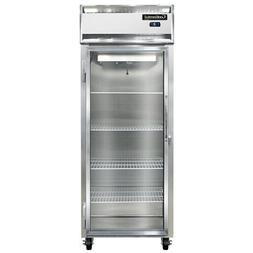 Continental Refrigerator 1FE-SS-GD Extra-Wide Stainless Stee