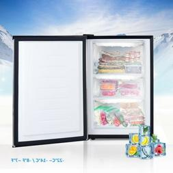 3 cu.ft. Compact Upright Freezer with Stainless Steel Door F
