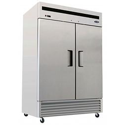 Atosa USA MBF8507 Series Stainless Steel 54-Inch Two Door Up