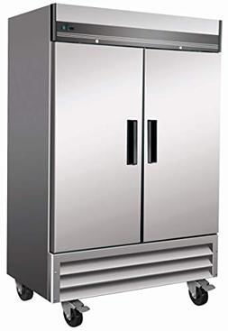 Chef's Exclusive CE303 Commercial Two 2 Solid Door Upright R