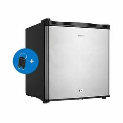 hOmelabs Upright Freezer - 1.1 Cubic Feet Compact Reversible