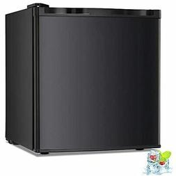 Kismile 1.1 Cu.ft Upright Freezer with Compact Reversible Si