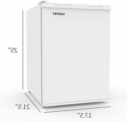 2.1 Cu Deep Chest Storage Home Defrost White