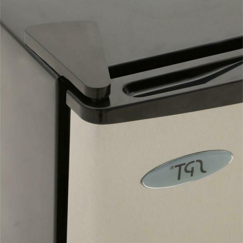 1.1 cu. Compact Stainless Steel, Energy Star