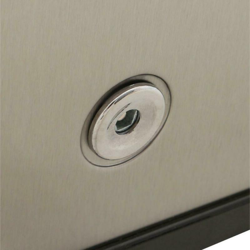 1.1 Compact Freezer Stainless Steel,
