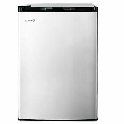 3 cu.ft. Compact Freezer w/Single Stainless Steel Door Removable