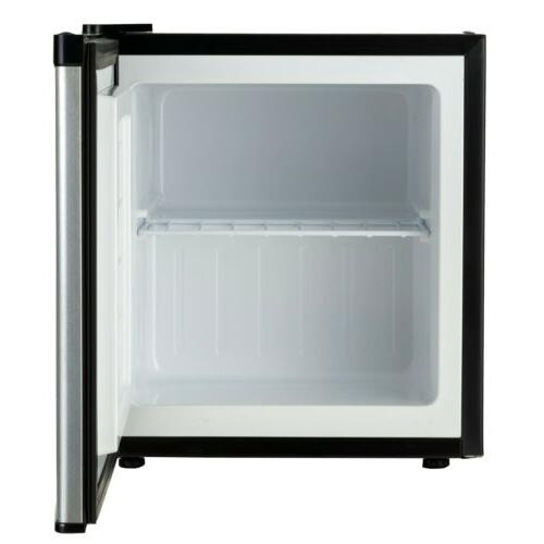 Compact Fridge Small Steel 1.1 CuFt