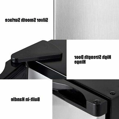 COSTWAY Compact Upright Freezer Countertop, Cu. Mini With