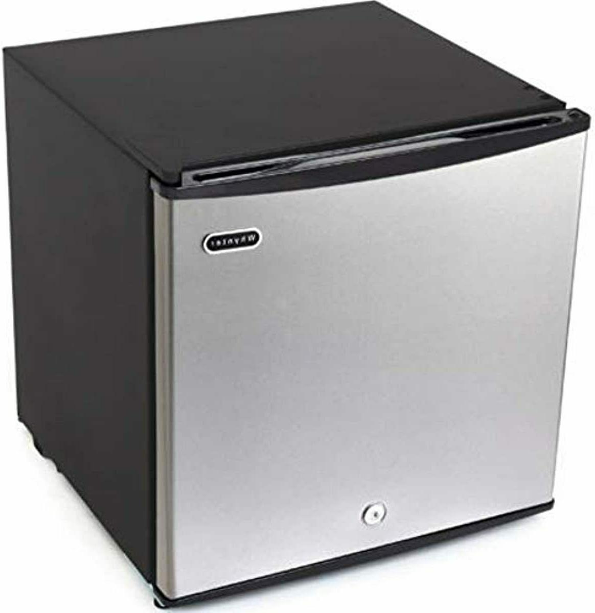 1.1 cubic feet Upright Freezer Stainless