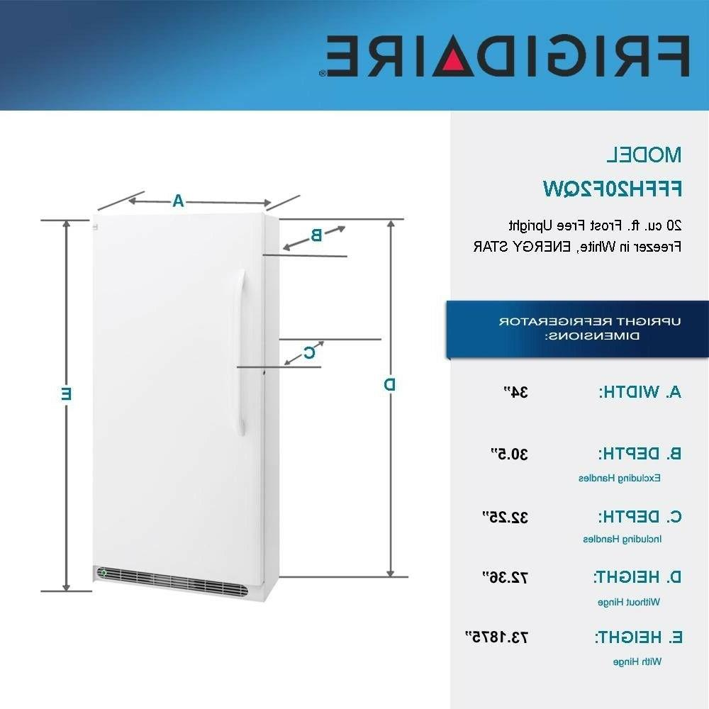Frigidaire - 20.2 Ft. Frost-Free - White ENERGY
