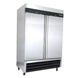"Centaur Plus CSD-2DF-BAL 54"" Two Section Reach-In Freezer,"