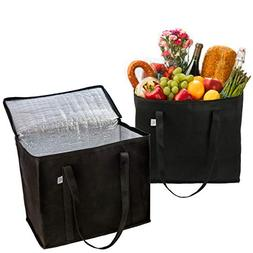 2 Pack Reusable Grocery Shopping Bag by Ks Country - Insulat