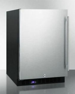 Summit SCFF53BSS Under Counter Upright Freezer, Stainless-St