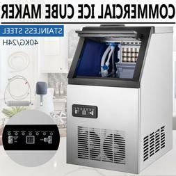 US 90LB Built-In Commercial Ice Maker Undercounter Freestand